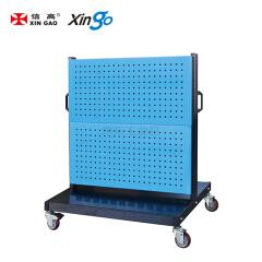 信高 移动型双面物料整理架(4方孔);KM-2240