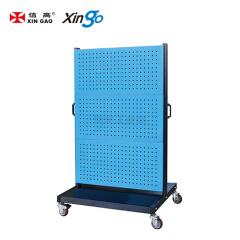 信高 移动型双面物料整理架(6方孔);KM-2360