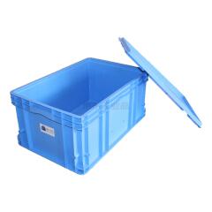 倍坚特 蓝巨人塑业 周转箱600*400*280,蓝色;BGW6428蓝色