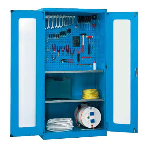 锐德(REDER) 置物柜 1000*400*1800mm(不含零件盒、挂钩等附件,可另配);CG104018-3