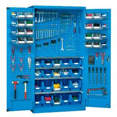 锐德(REDER) 置物柜 1000*400*1800mm(不含零件盒、挂钩等附件,可另配);CP104018-3