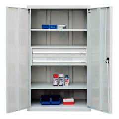 锐德(REDER) 置物柜 1000*600*1800mm(不含零件盒、挂钩等附件,可另配);C106018D2M