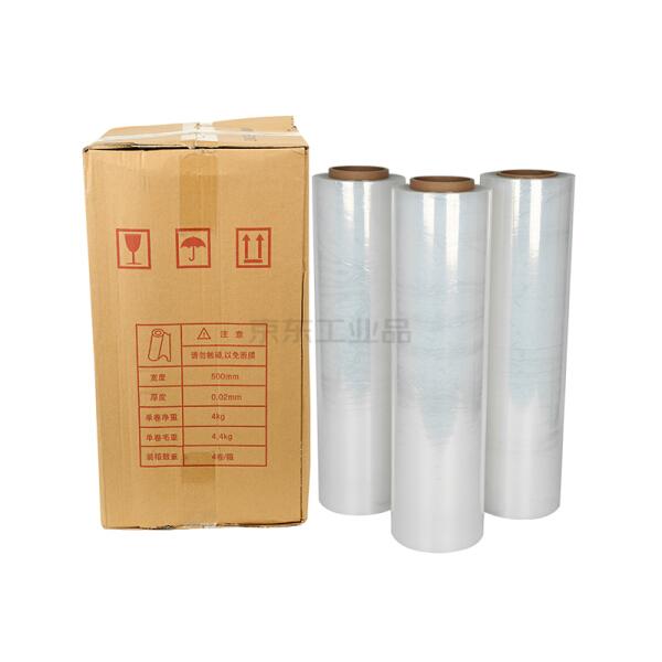 惠象 手用缠绕膜,宽500mm,厚0.02mm,净重3kg/卷,4卷/箱;500330-X