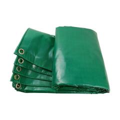 友友 篷布雨布 PVC142绿防水布 涂塑布 尺寸2米*2米;YY-PVC142-20002000