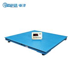 亚津 碳钢单层电子地磅秤,量程:0.3T;SCS-P771-NN-0.3-8080